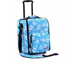 Zomo CD Trolley Premium Flower Blue