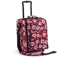 Zomo CD Trolley Premium Flower Red