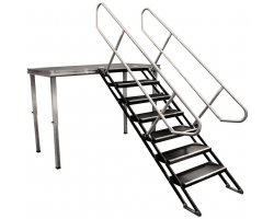 Duratruss stage Vario Stair 100-180cm