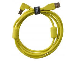 UDG Ultimate Audio Cable USB 2.0 A-B Yellow Angled 3m