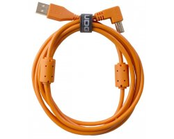 UDG Ultimate Audio Cable USB 2.0 A-B Orange Angled 1m