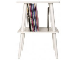 Crosley Mancheste Record Player Furniture White
