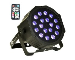 LIGHT4ME LED PAR 18x3W UV