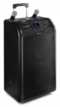 "Power Dynamics PA300 Portable 2 X 8"" Sound System SD/USB/MP3/BT"