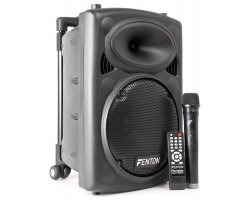 "Fenton FPS10 Portable Sound System 10"" BT/MP3/USB/SD/VHF"