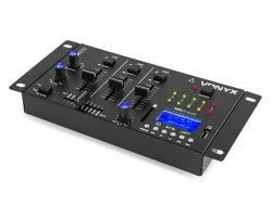 Vonyx STM3030 4-Channel Mixer USB/MP3/BT/REC