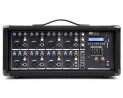 Power Dynamics PDM-C805A 8-Channel Mixer With Amplifier