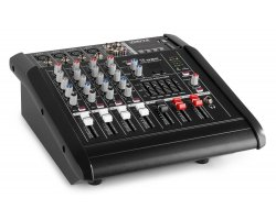 Vonyx AM5A 5-Channel Mixer With Amplifier DSP/BT/SD/USB/MP3