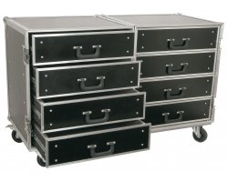 Power Dynamics FA4 8 Drawer Engineering Case