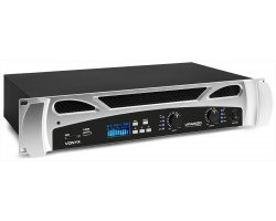 Vonyx VPA600 PA Amplifier 2X 300W Media Player With BT
