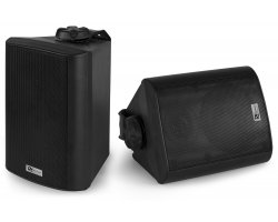 "Power Dynamics BC40V Black Speaker Pair 100V 8 OHM 4"" 100W - IPX5"