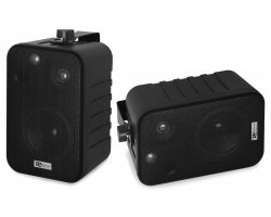 "Power Dynamics BV40V Background Speakers Black 4"" 100V"
