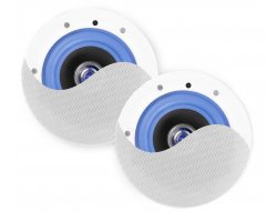 Power Dynamics ESCS6 Set Low Profile Ceiling Speakers 6,5""