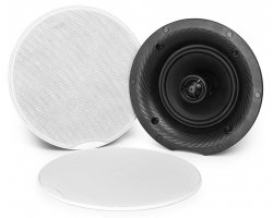 Power Dynamics CSH50 2-Way Ceiling Speaker Set With Amplifier And BT 100W 5.25""