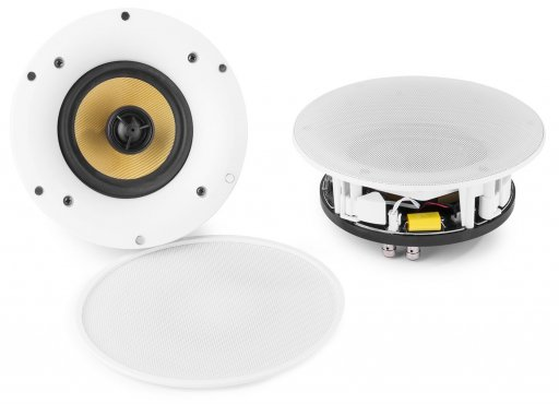 Power Dynamics WCS80 WIFI/BT Ceiling Speaker Set 140W 8""