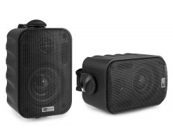 "Power Dynamics BGO30 Speaker Set In/Outdoor 3"" 60W BLACK"