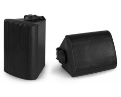 "Power Dynamics BGO40 Speaker Set In/Outdoor 4"" 100W Black"