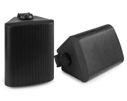 "Power Dynamics BGO50 Speaker Set In/Outdoor 5.25"" 120W Black"