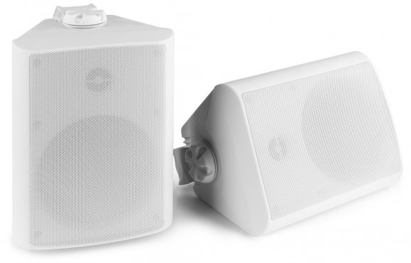 "Power Dynamics BGO50 Speaker Set In/Outdoor 5.25"" 120W White"