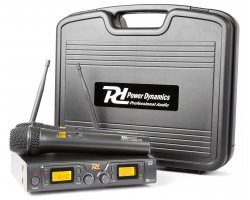 Power Dynamics 782 Wirel.Micro UHF 2x8Ch 2 Micro