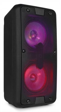 "Fenton SBS65 Party Speaker 2X 4"" BT LED USB"