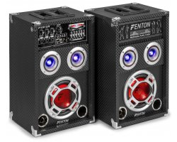"Fenton KA-06 Active Speaker Set 6.5"" USB/RGB LED 400W"