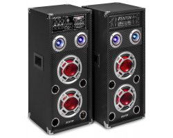"Fenton KA-26 Active Speaker Set 2x 6.5"" USB/RGB LED 800W"