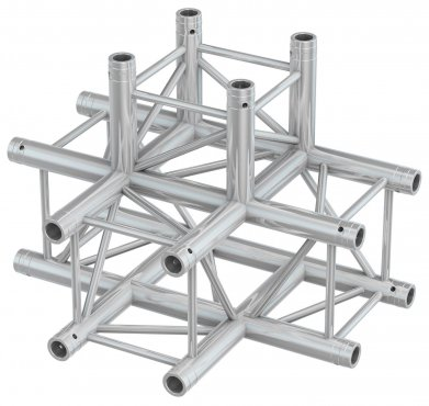 BeamZ Pro P30-C55 Truss 5 way X-junction 0,5m
