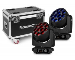 BeamZ Pro MHL1240 Mov Head Zoom 12x40W 2p FC