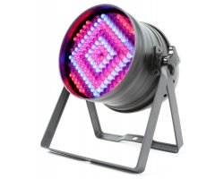 BeamZ LED PAR-64 RGB 176x 10mm, DMX