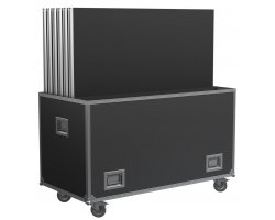Power Dynamics Spider Deck750 Flightcase pro 6 setů