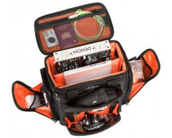UDG Ultimate ProducerBag Large Black/Orange inside