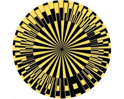 Zomo Slipmat Scope yellow