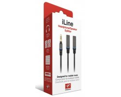 IK Multimedia iLine Headphone Stereo Splitter