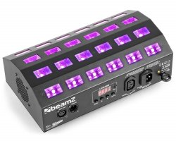 BeamZ UV stroboskop 24x 3W LED