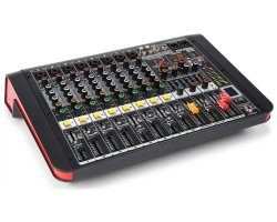 Power Dynamics PDM-M804A 8-Channel Music Mixer with Amplifier