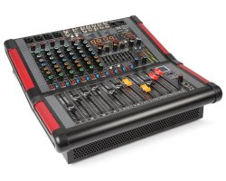 Power Dynamics PDM-S804A 8-Channel Stage Mixer with Amplifier