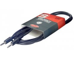 Stagg SAC3MPS, kabel stereo MINI JACK/MINI JACK, 3m