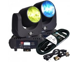LIGHT4ME BEAM 60 LED strong movable head SET